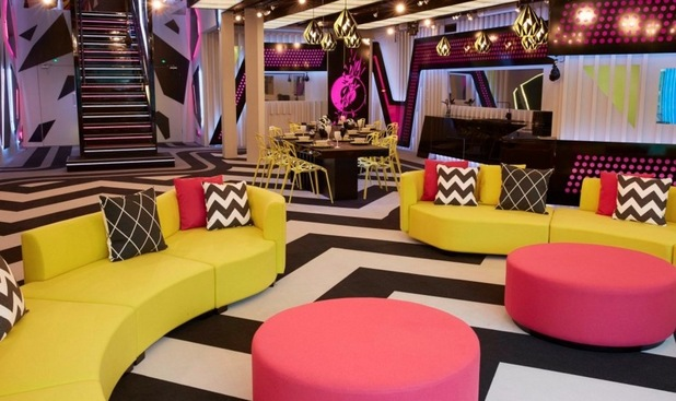 Big Brother house: Lounge 2 June