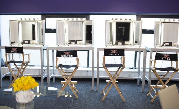 X Factor judging panel for 2016 is confirmed: picture of the judges' chairs