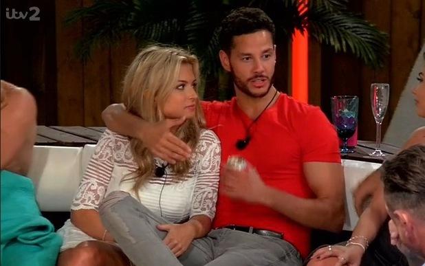 Zara and Scott, Love Island 30 May