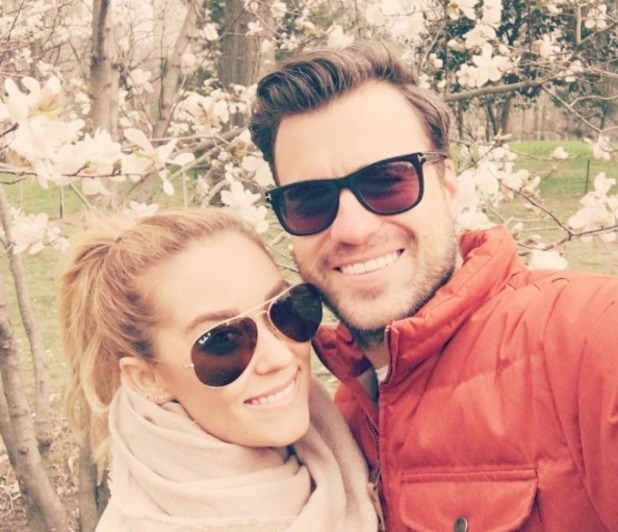 Lauren Conrad and husband William Tell pictured on a romantic walk - April 2016
