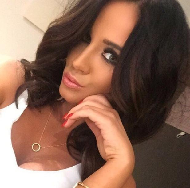 Vicky Pattison selfie, Instagram 28 May