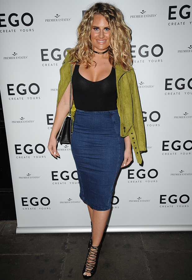 Danielle Armstrong and James Lock at Ego first birthday, London, 2 June 2016