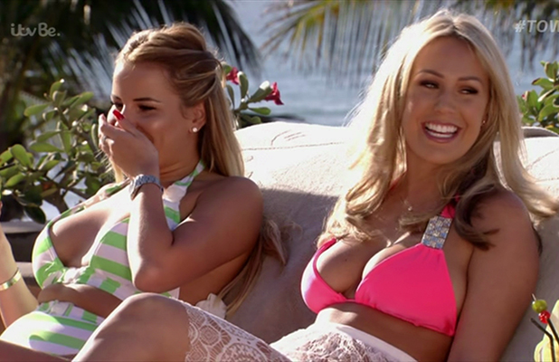 The Only Way Is Essex. Broadcast on 28th February on ITVBe Kate Wright and Georgia Kousoulou