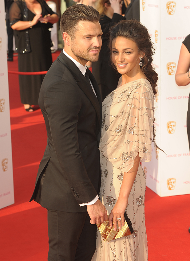 British Academy Television Awards BAFTAS 2016 held at Royal Festival Hall Mark Wright and Michelle Keegan