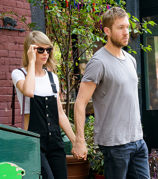 Taylor Swift and Calvin Harris had lunch at The Spotted Pig 215