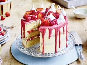 British Bakes: Eton Mess Cake by Stork