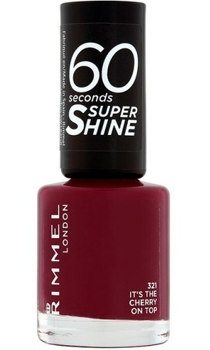 Rimmel 60 Second Nail Polish It's The Cherry On Top