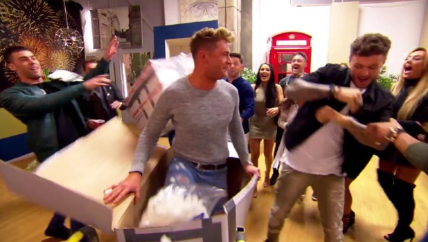 Geordie Shore: Big Birthday Battle Scotty T mails himself back to the house! 7 June 2016