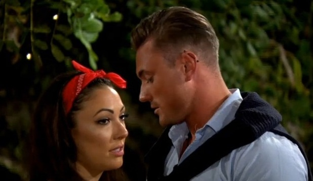 Tom Powell and Sophie Gradon, Love Island 7 June