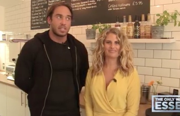 Danielle Armstrong and James Lock give relationship update in new video - 10 June 2016
