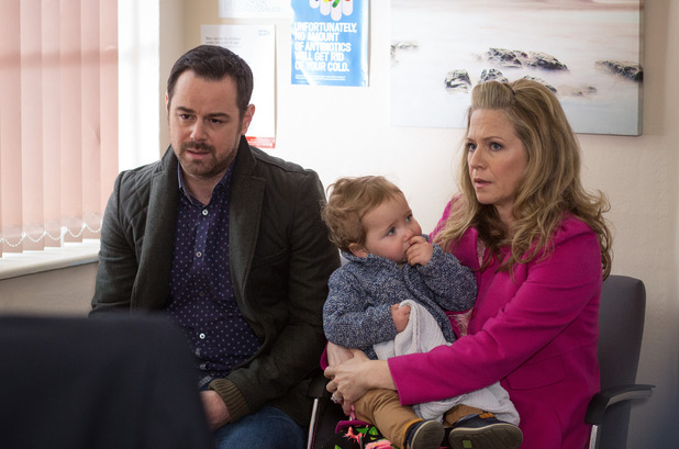 EastEnders, Mick and Linda at Ollie's appointment, Tue 14 Jun