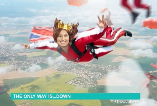 Ferne McCann to skydive live on This Morning  - 9 June 2016