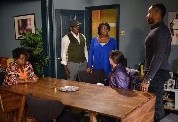EastEnders, Kim gets Patrick and Claudette to confront Donna and Vincent, Thu 9 Jun