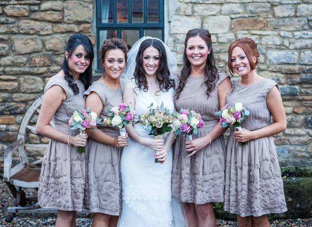 Kerry and her bridesmaids