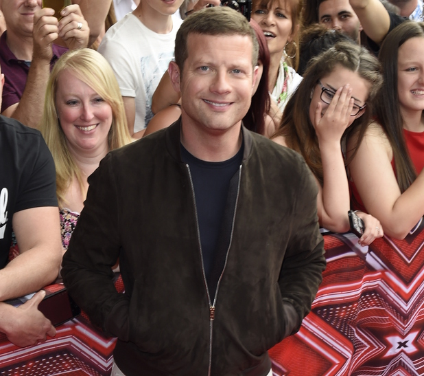 Dermot O'Leary, The X Factor auditions, Leicester 10 June