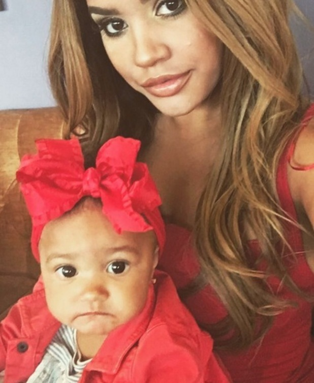 Lateysha Grace and daughter Wynter 10 June