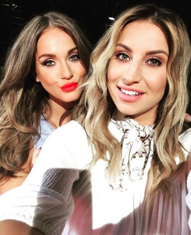 Ferne McCann and Vicky Pattison meet up to discuss secret project - 8 June 2016