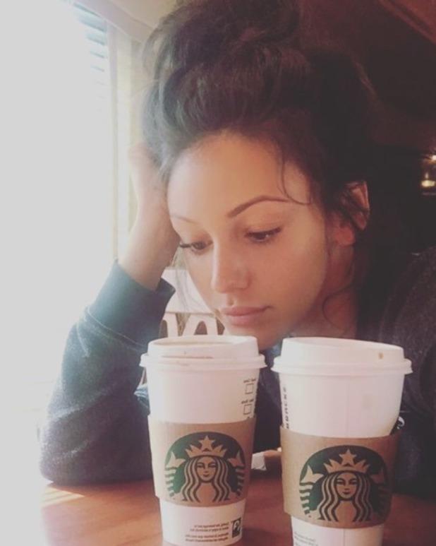 Michelle Keegan shares no make-up selfie after night shoot - 9 June 2016