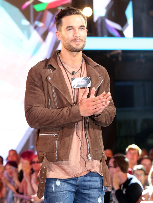 Alex Cannon enters Big Brother, 7 June 2016