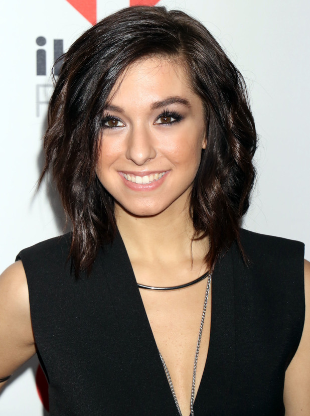 Christina Grimmie at IHeartRadio Music Festival 2015, 18/9/15
