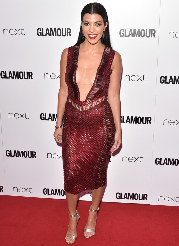 Kourtney Kardashian at Glamour Awards 2016 - 7 June 2016