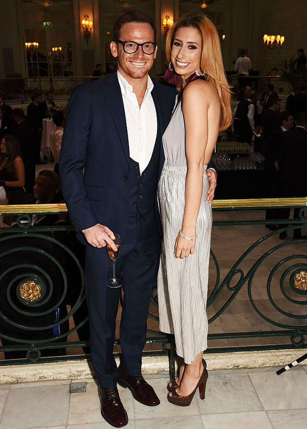 Stacey Solomon and Joe Swash attend The KP24 Foundation Charity Gala Dinner in London 9 June