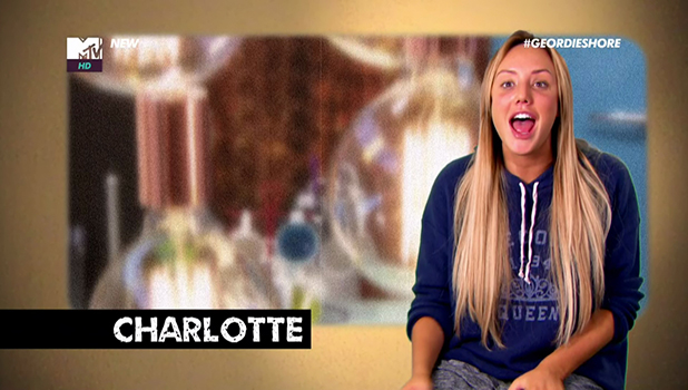 Charlotte Crosby in Geordie Shore Screengrab, 2016