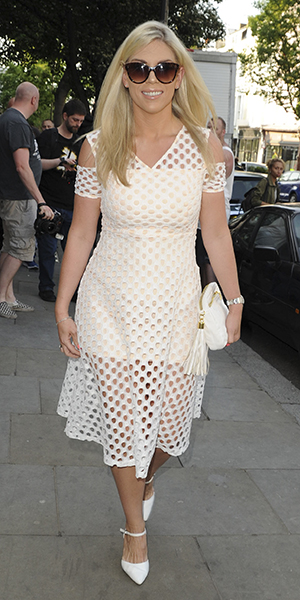 Amy Childs Summer collection showcase at Beach Blanket Babylon, Notting Hill, London Frankie Essex