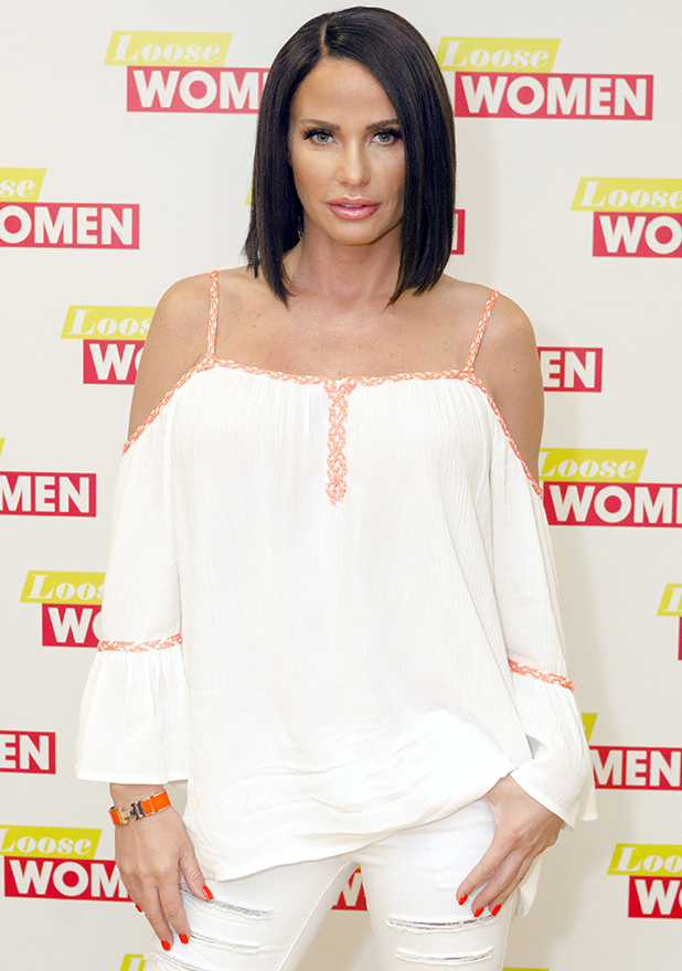 Loose Women' TV show, London, Britain - 07 Jun 2016 Katie Price