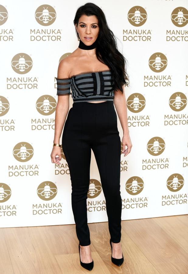 Kourtney Kardashian Manuka Doctor photocall, London, Britain - 8th Jun 2016