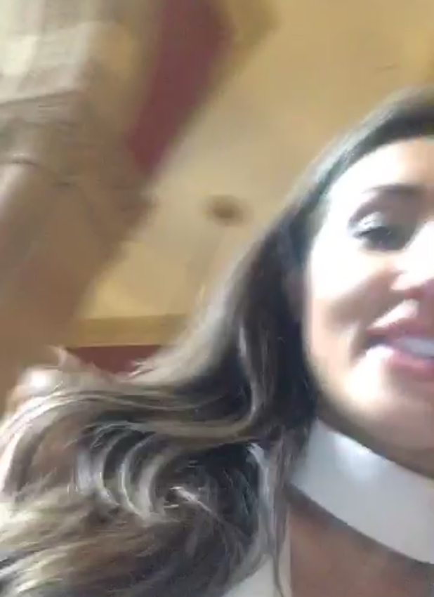 Megan McKenna visits the Spice Girls staircase hotel, London, 6 June 2016