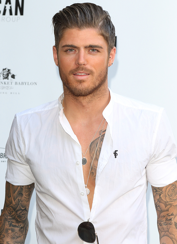 Amy Childs Summer collection showcase at Beach Blanket Babylon, Notting Hill, London Sam Reece
