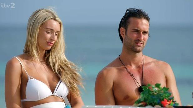Rachel Fenton and Daniel Lukakis dumped from Love Island 12 June