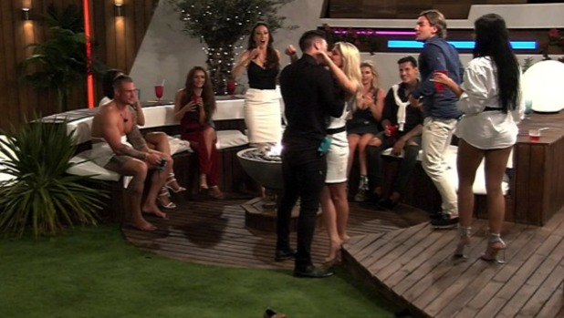 Zara Holland and Adam Maxted kiss on Love Island 13 June