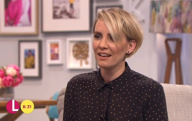 Claire Richards shows off weight loss on Lorraine - 14 June 2016