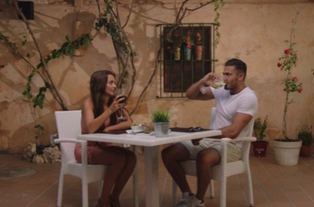Kady McDermott and James Khan, Love Island 16 June