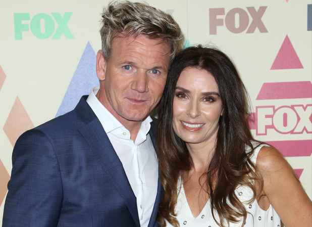 Gordon Ramsay and wife Tana attend 2015 Television Critics Association Summer Press Tour - FOX All-Star Party at Soho House, LA 7 August 2015
