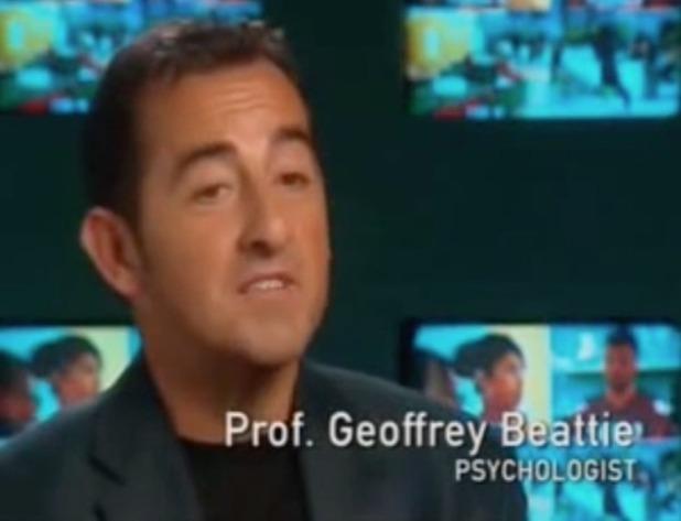 Professor Geoffrey Beattie from Big Brother 2003