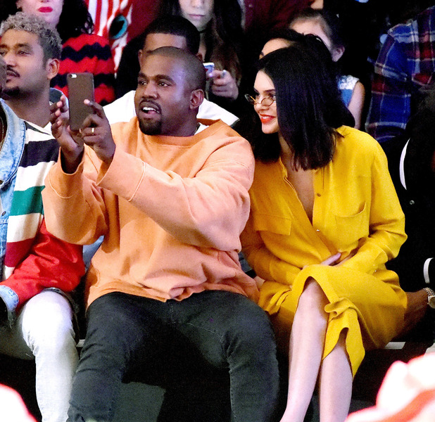 Kendall Jenner and Kanye West attend the L.A Taylor: The Creator show in Los Angeles, 14th June 2016
