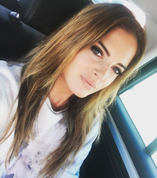 Made In Chelsea star Binky Felstead removes her hair extensions, 14th June 2016