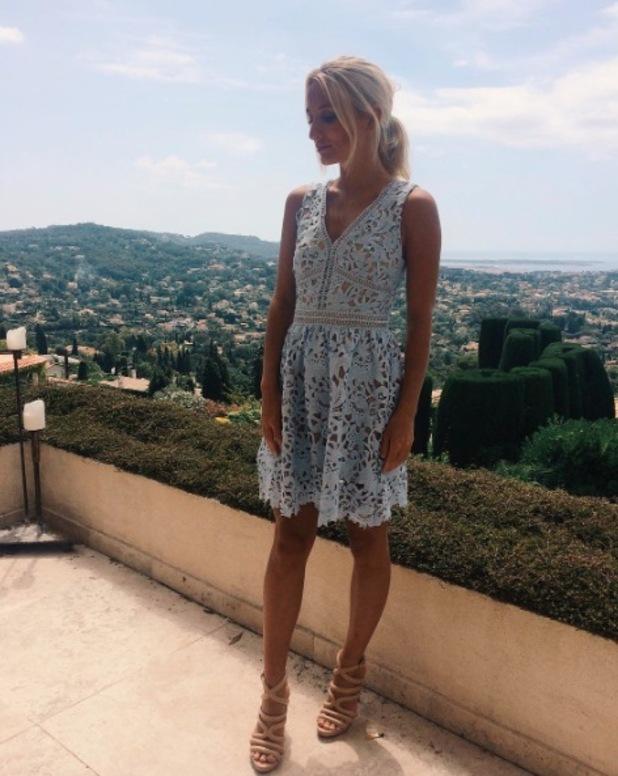 Made In Chelsea star Tiffany Watson wears New Look dress, 15th June 2016