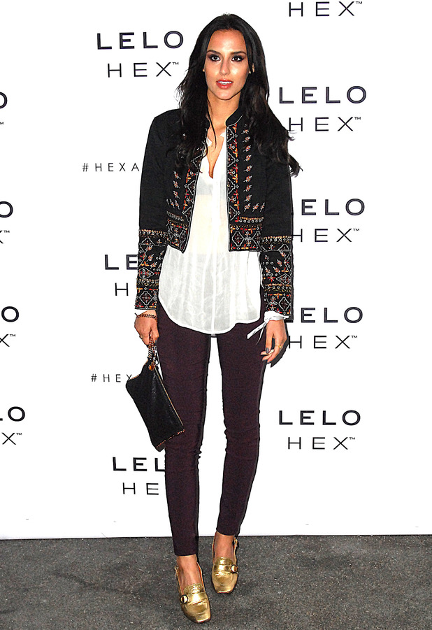 Made In Chelsea star Lucy Watson attends the Lelo Hex Condom launch party in London, 17th June 2016