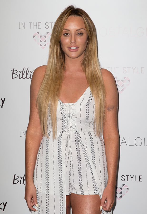The 'In The Style' Photocall held at The Sanctum Soho Hotel Charlotte Crosby