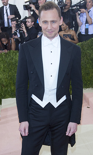 Manus x Machina: Fashion In An Age Of Technology' Costume Institute Gala held at the Metropolitan Museum of Art Tom Hiddleston