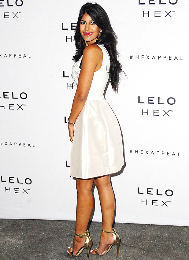 Celebs attend the Lelo Hex VIP launch party at Vinyl Club Jasmin Walia 16 June 2016