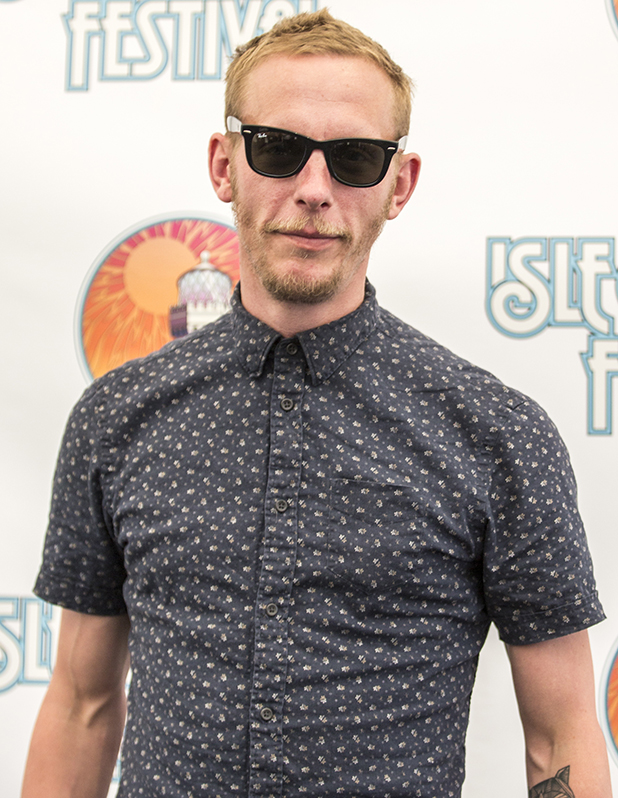 Laurence Fox was at the Isle of Wight Festival today. His debut album, Holding Patterns, was released in February 2016.
