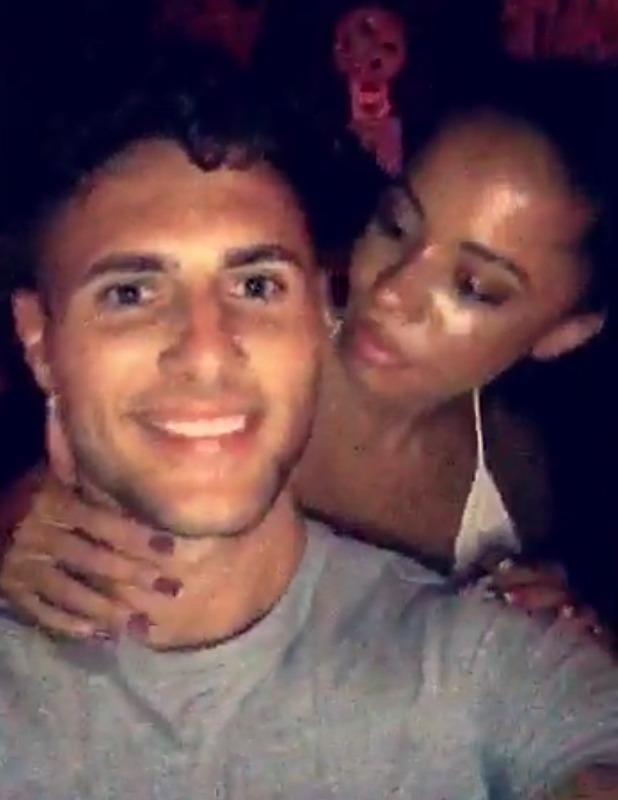 Olivia Walsh and James Moore on Snapchat Ibiza 14 June 2016