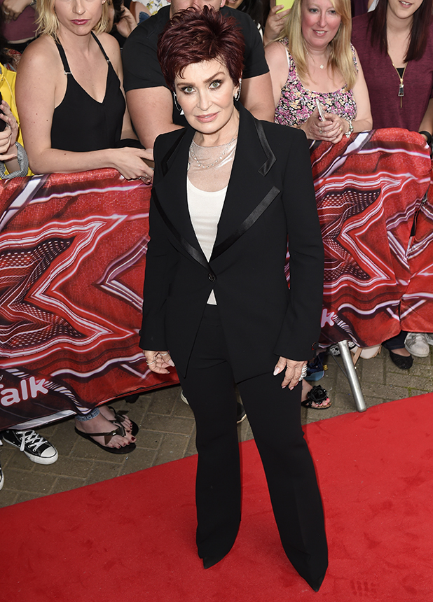 'X Factor' Launch at Leicester City FC King Power Stadium Sharon Osbourne