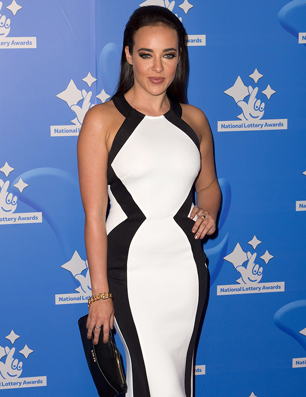 Stephanie Davis National Lottery Stars 2015 held at The London Studios