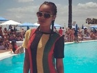 Get the look! Little Mix's Leigh-Anne Pinnock is smoking hot in £25 maxi dress